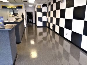 good year concrete floor buffing